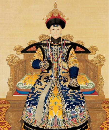 Eastday Court Dress In Qing Dynasty