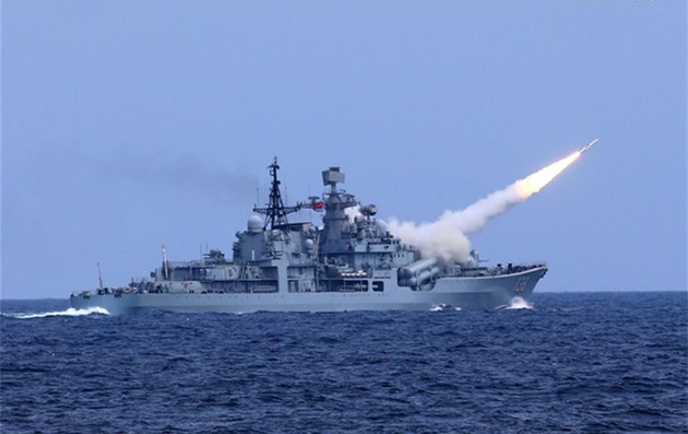 Navy tests its capabilities with E China Sea drill
