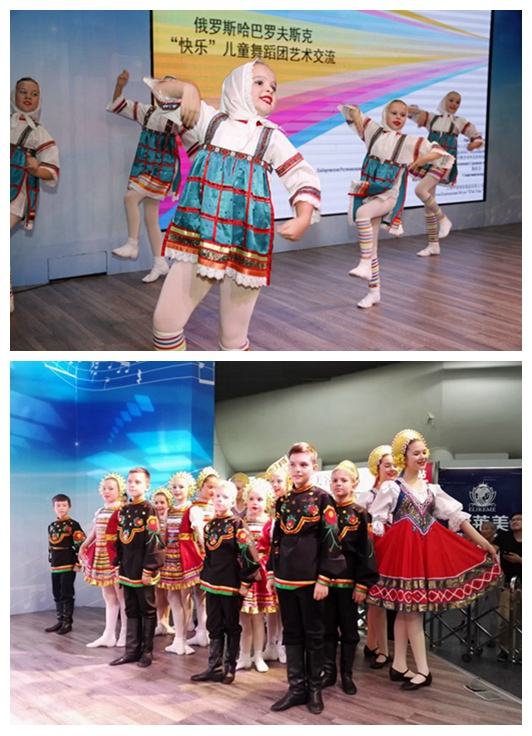 Russian kids showcase folk dances in Shanghai