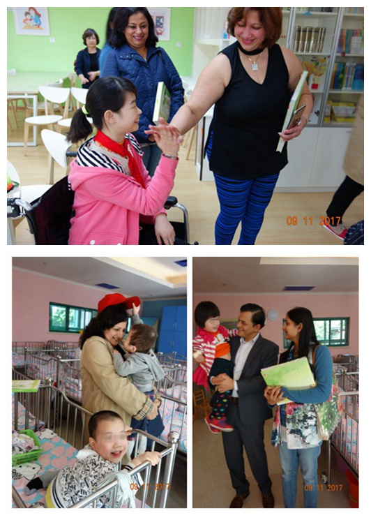 Indian friends donate growth gifts to Shanghai Children's Home