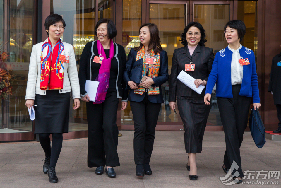 Female deputies on NPC and CPPCC