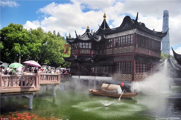 Yuyuan Garden in the dog days of summer: an Earthly Fairyland