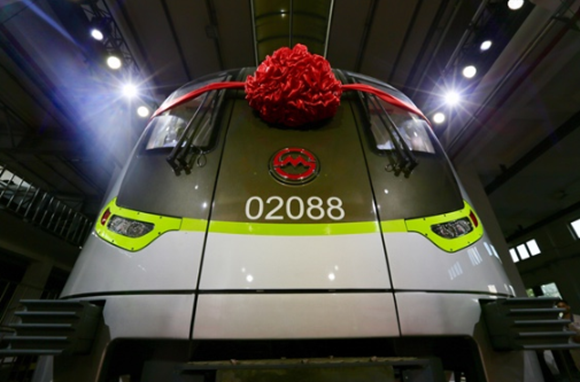 Metro marks carriage milestone