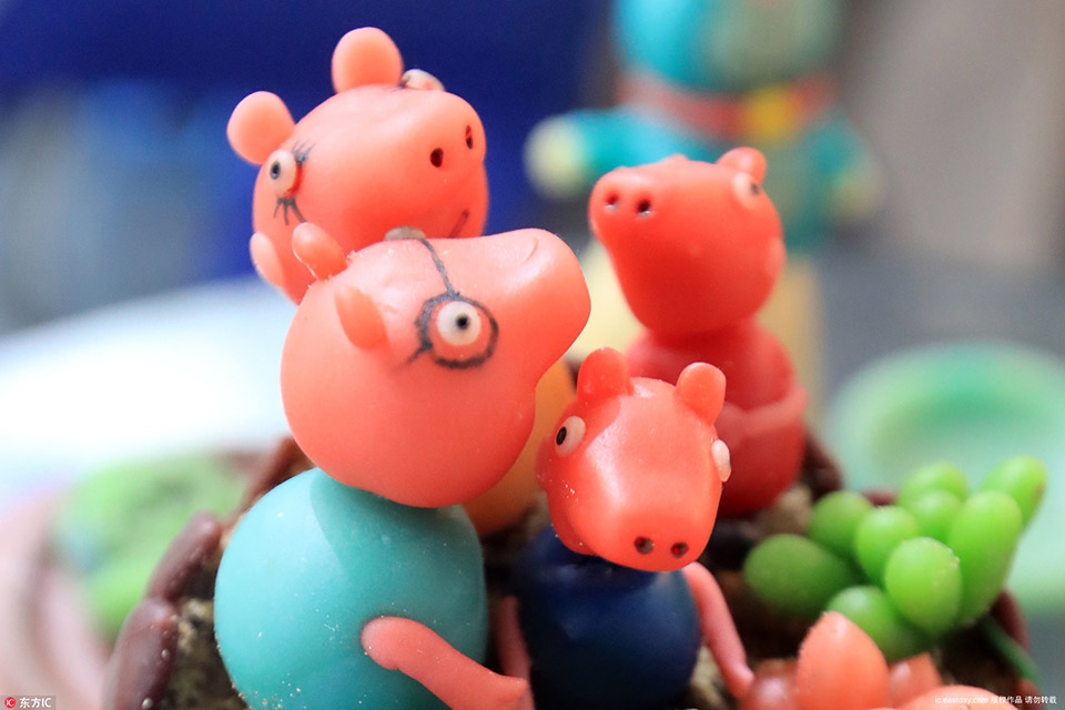 Peppa Pig: sweet enough to eat