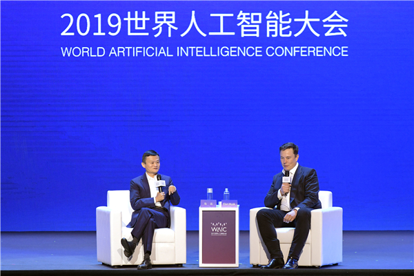 Jack Ma and Elon Musk debate future of AI