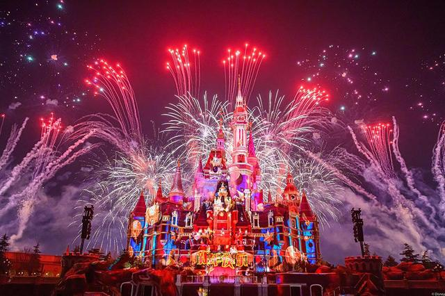 Disney ignites New Year with celebratory nighttime show