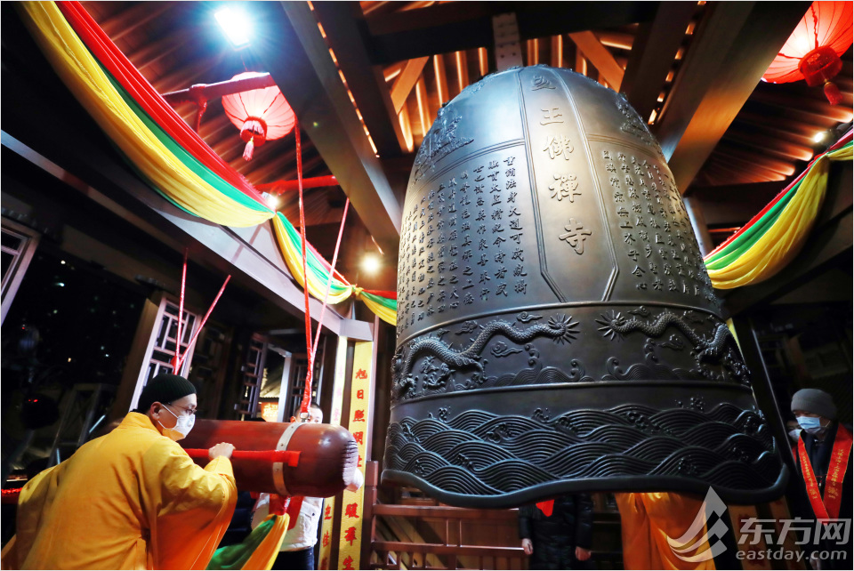 Jade Buddha Temple rings in the New Year