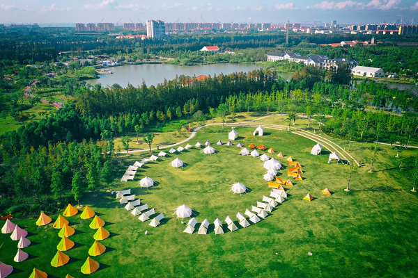 Country park in Chongming to keep attracting visitors