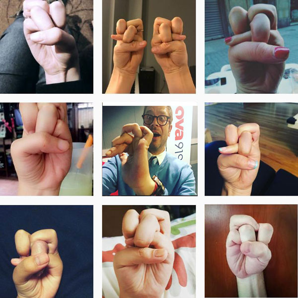 Can you make a 'finger knot'?