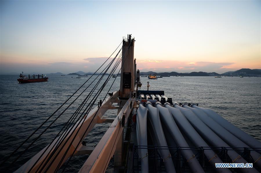 Emergency drill held on Tian'en vessel en route