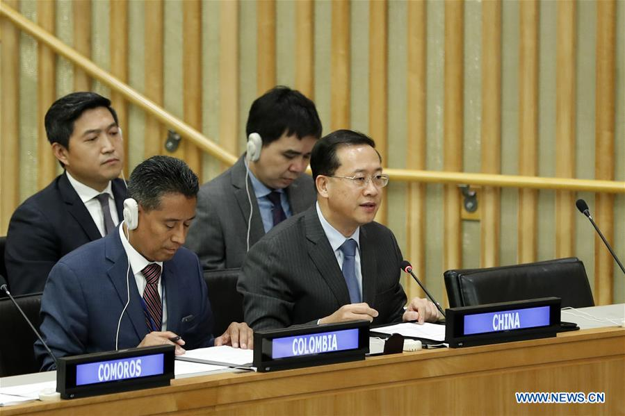 Chinese envoy urges all nations to commit to go