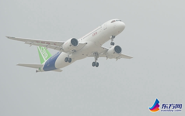 China's homegrown commercial jet C919 makes maiden flight