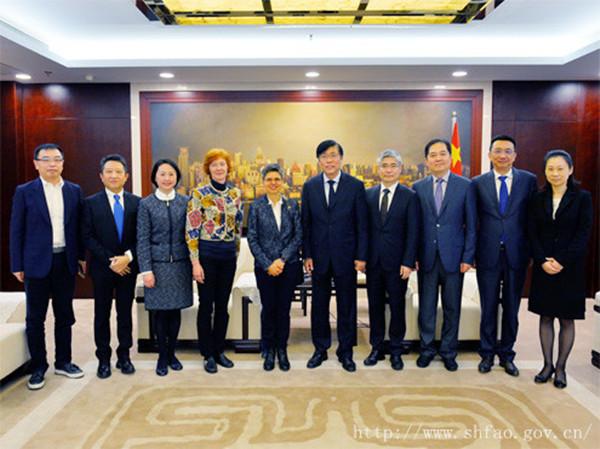 Zhang Xiaosong Meets New Israeli Consul General-Eastday