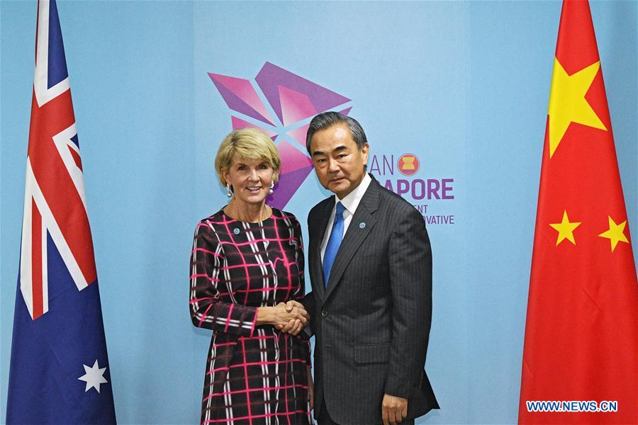 Chinese state councilor meets with Thai, Austra